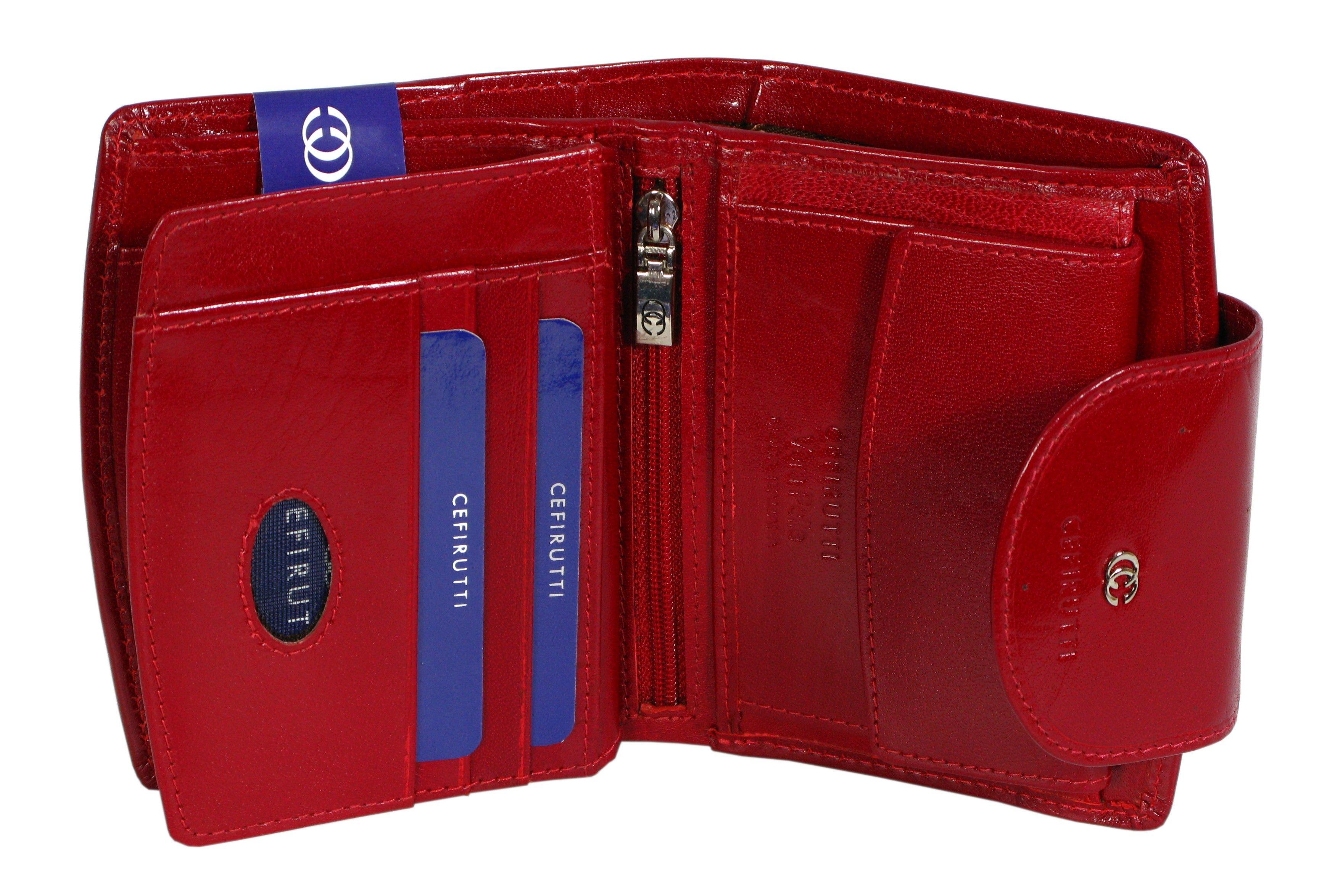 bfd95b9c9c448 ... portfel damski skórzany allegro cefirutti czerwony ...