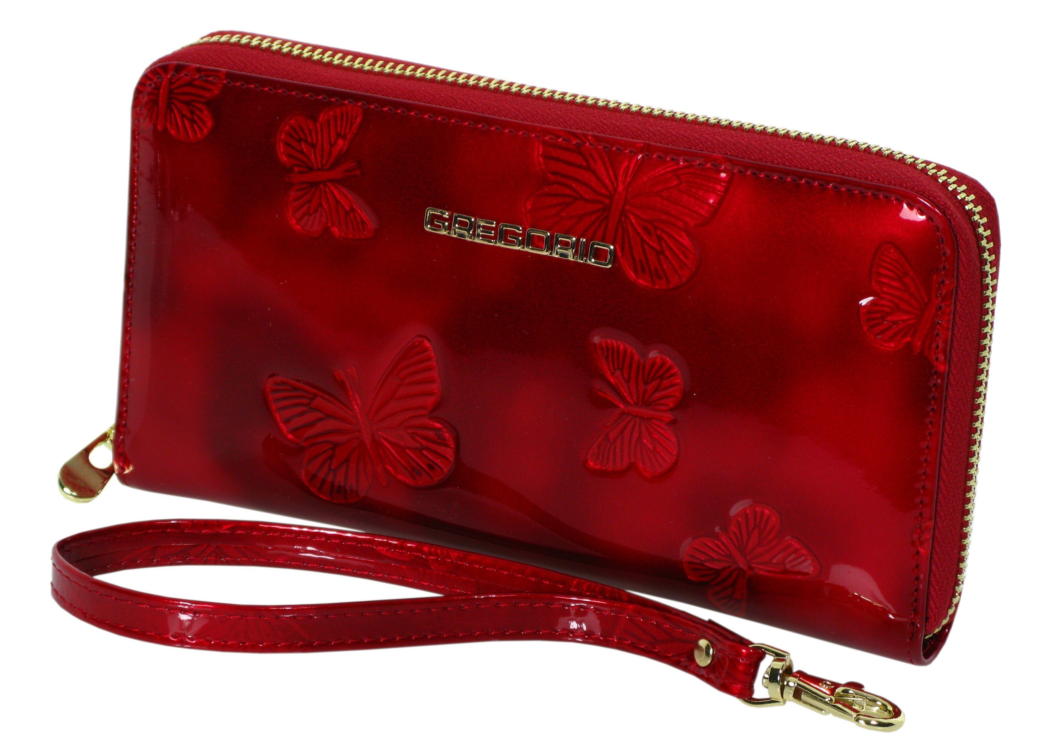 2e4969ea8c800 Skórzany portfel damski GREGORIO BT119 czerwony | Akcesoria skórzane ...