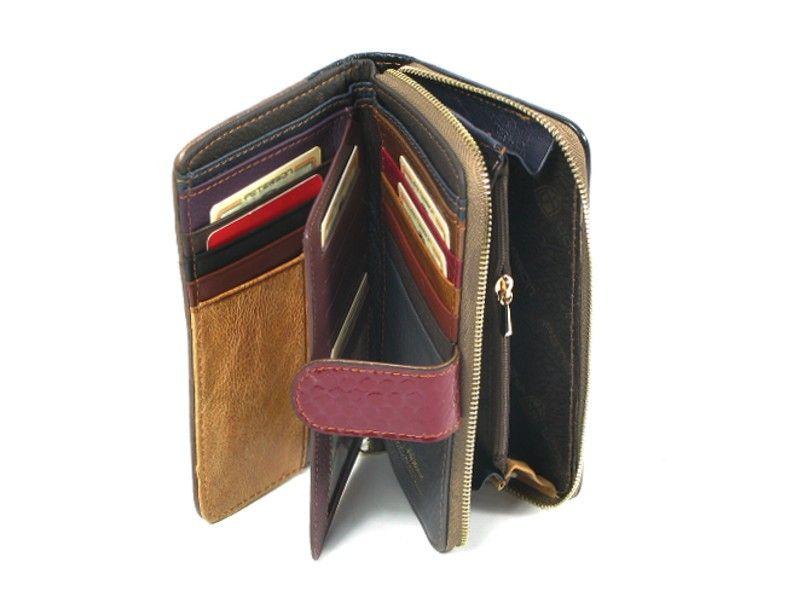 ef366e54b7f92 ... portfel damski skórzany allegro czerwony peterson lakierowany ...