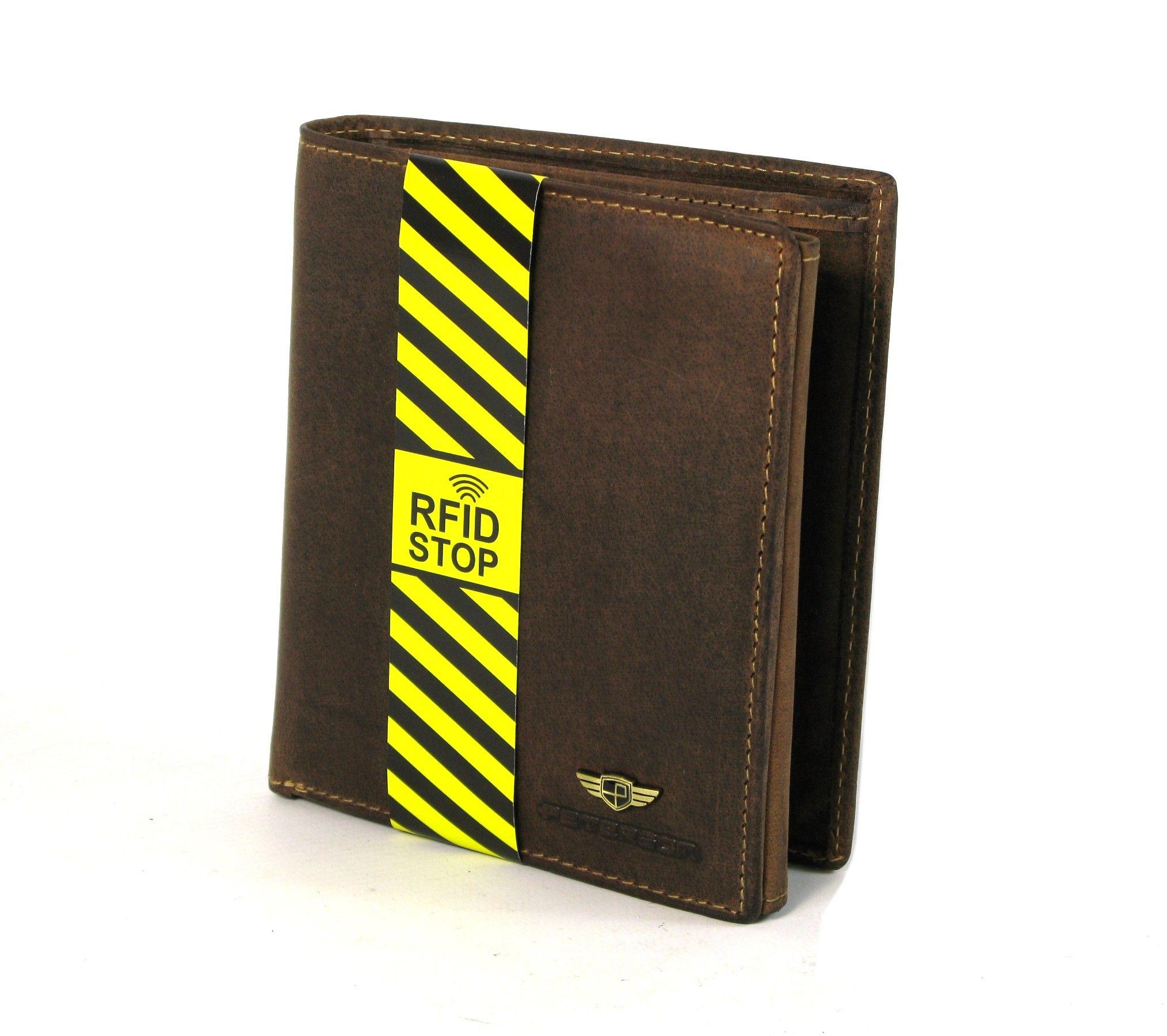 52dec97d70a92 Portfel męski skórzany PETERSON RW30121 RFID | Akcesoria skórzane ...