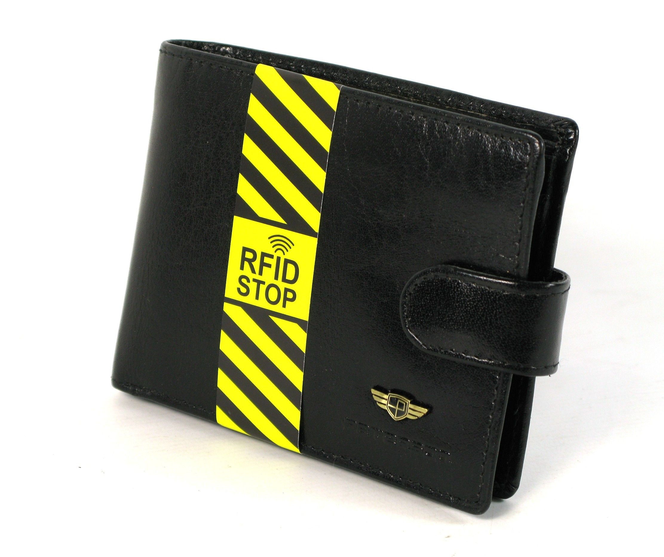0e06cae17826b Portfel męski PETERSON RW-334-z-1 RFID SKÓRA czarny
