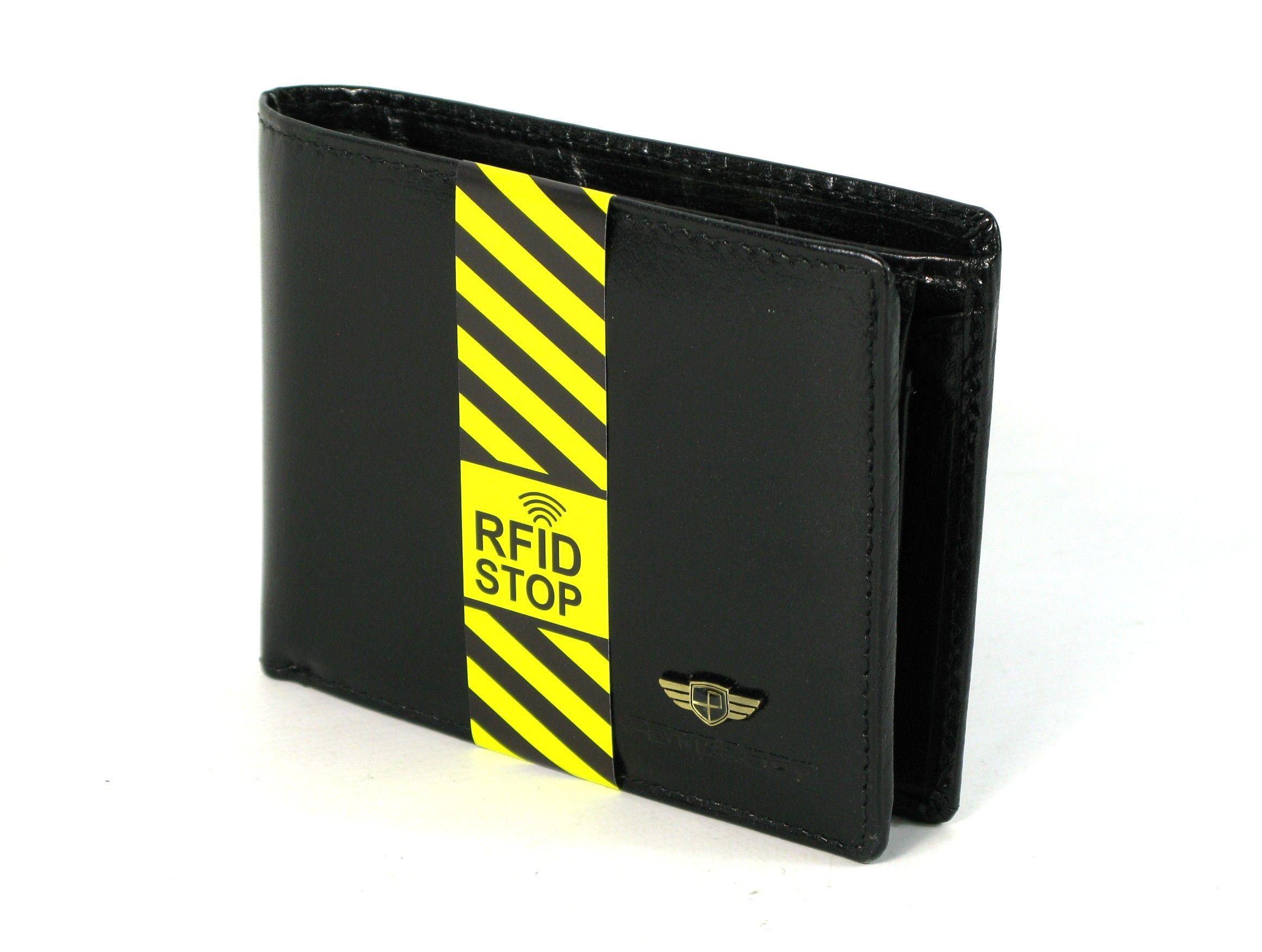 c58cd7b2caf08 Portfel męski PETERSON RW-347-1 RFID SKÓRA czarny | Akcesoria ...