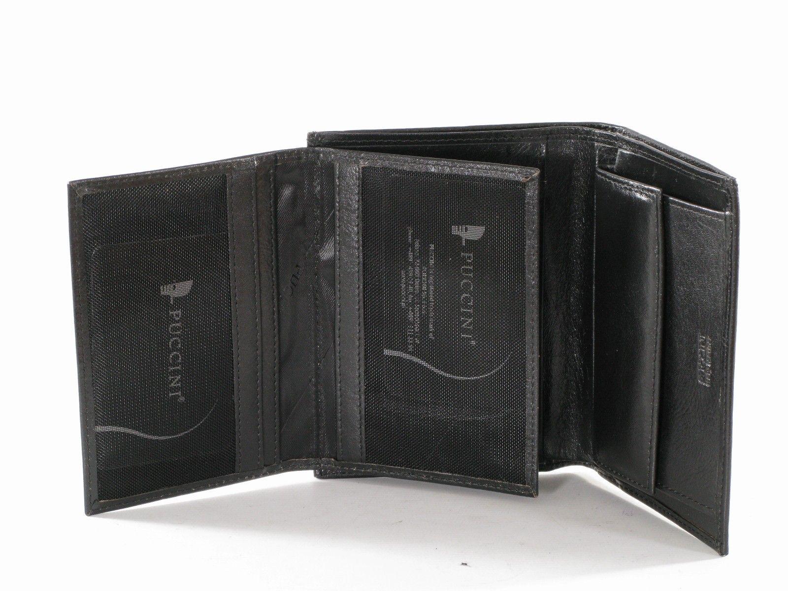 d4b903b15046a Portfel skórzany Męski Puccini P-1696 czarny   Akcesoria skórzane ...