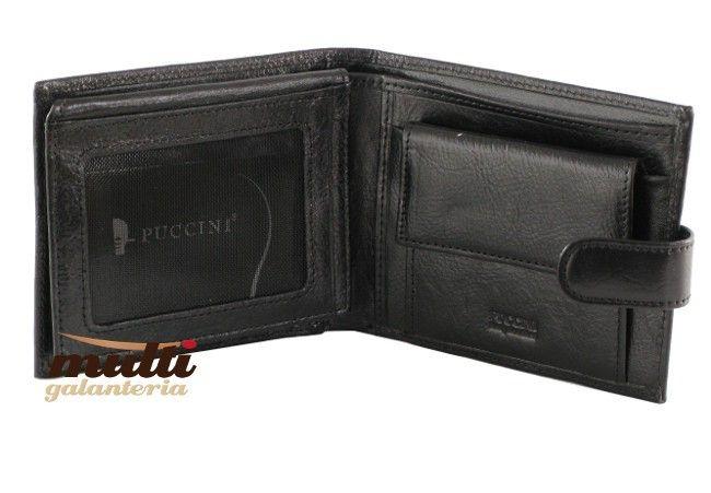 0848ab82e055a ... portfel męski skórzany allegro czarny puccini klasyczny ...
