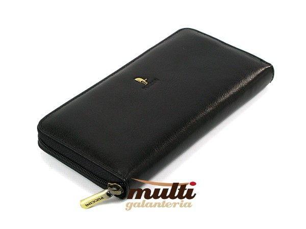 8cdeba6bad411 ... portfel damski skórzany allegro puccini klasyczny masterpiece czarny ...
