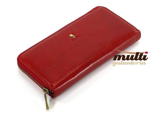 6c06b00482840 ... portfel damski skórzany allegro puccini klasyczny masterpiece czerwony  ...