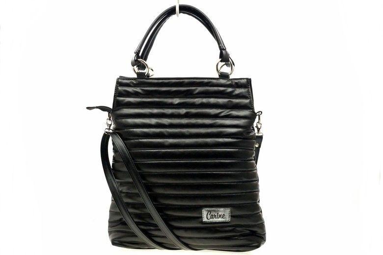 35d4269592e07 Torebka Damska LEWANDOWSKA EKO Pikowana Carine Fashion 1494 czarna ...