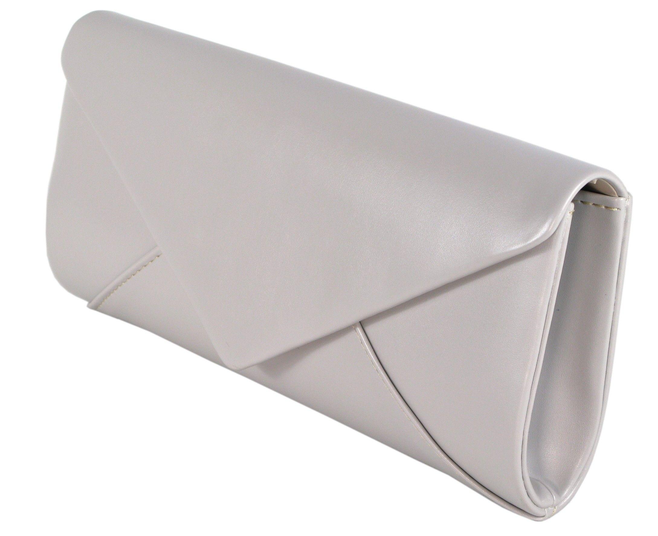 11afc109ecc438 Torebka wizytowa skórzana beżowa kopertówka | Akcesoria skórzane ...