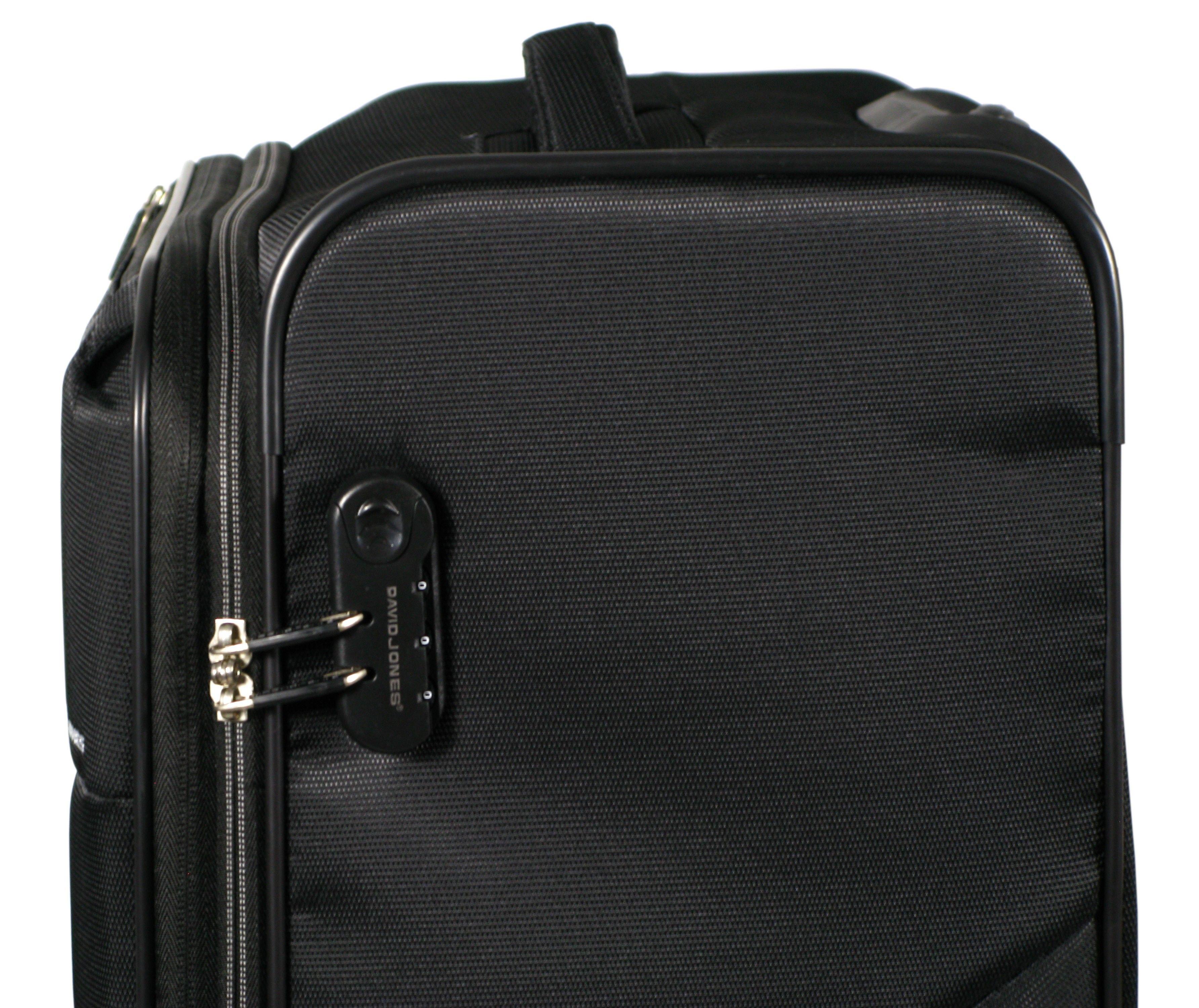d20bfbe14217d Średnia walizka DAVID JONES 5043 NYLON super lekka   Akcesoria ...