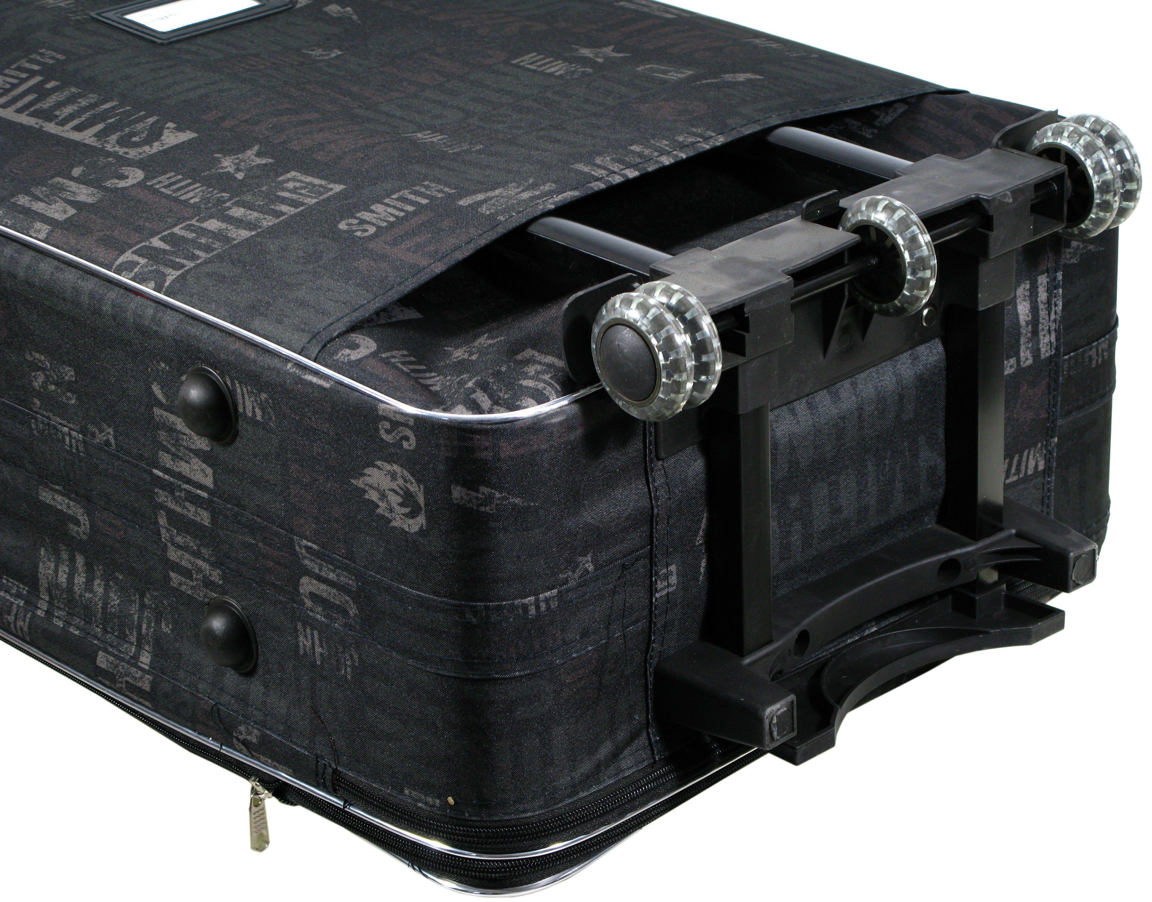 fd58d7931bfbb Mała walizka na kółkach 111 Napisy codura zamek | Akcesoria skórzane ...