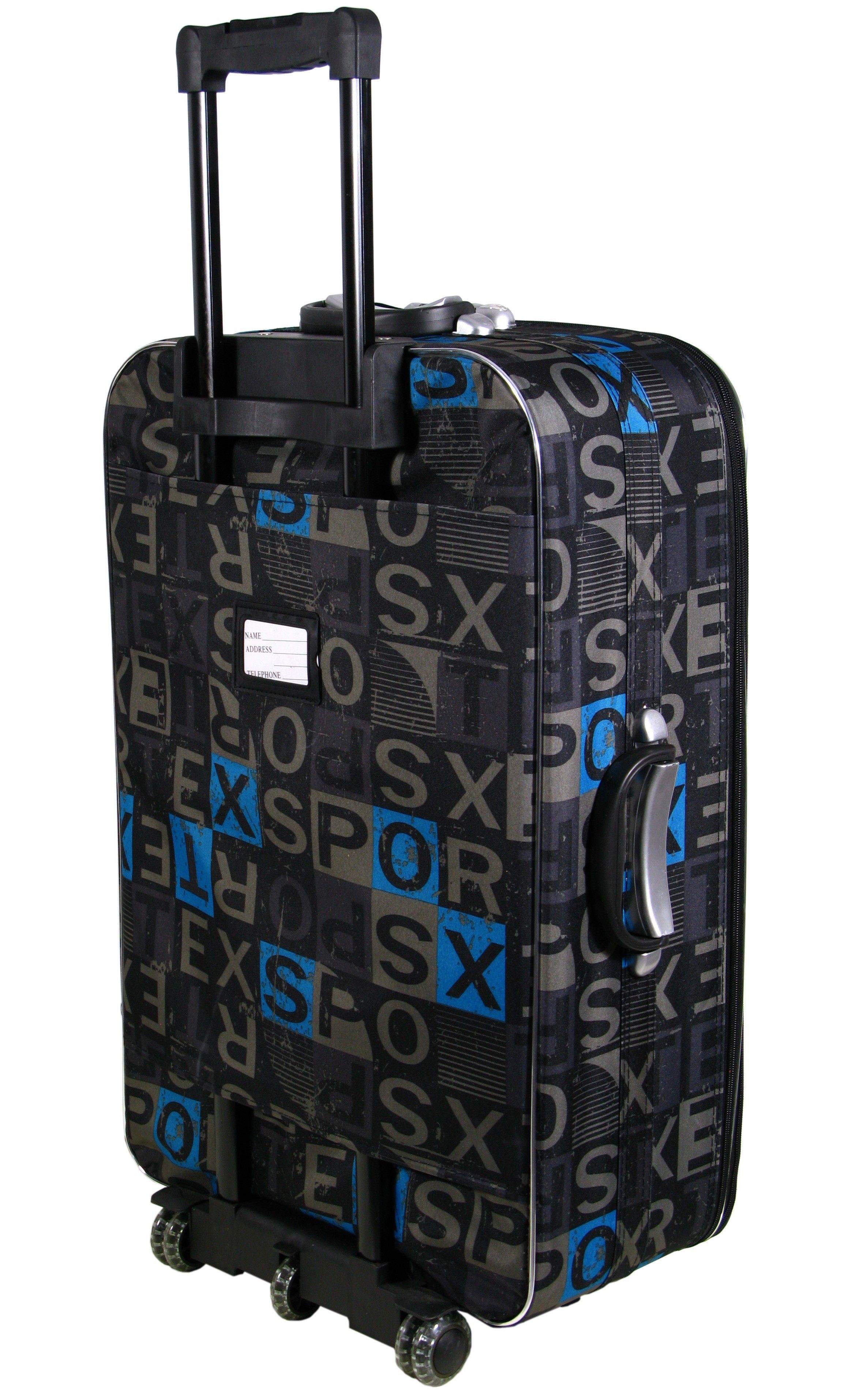 401f633a76481 Średnia walizka na kółkach 111 LITERY codura zamek   Akcesoria ...