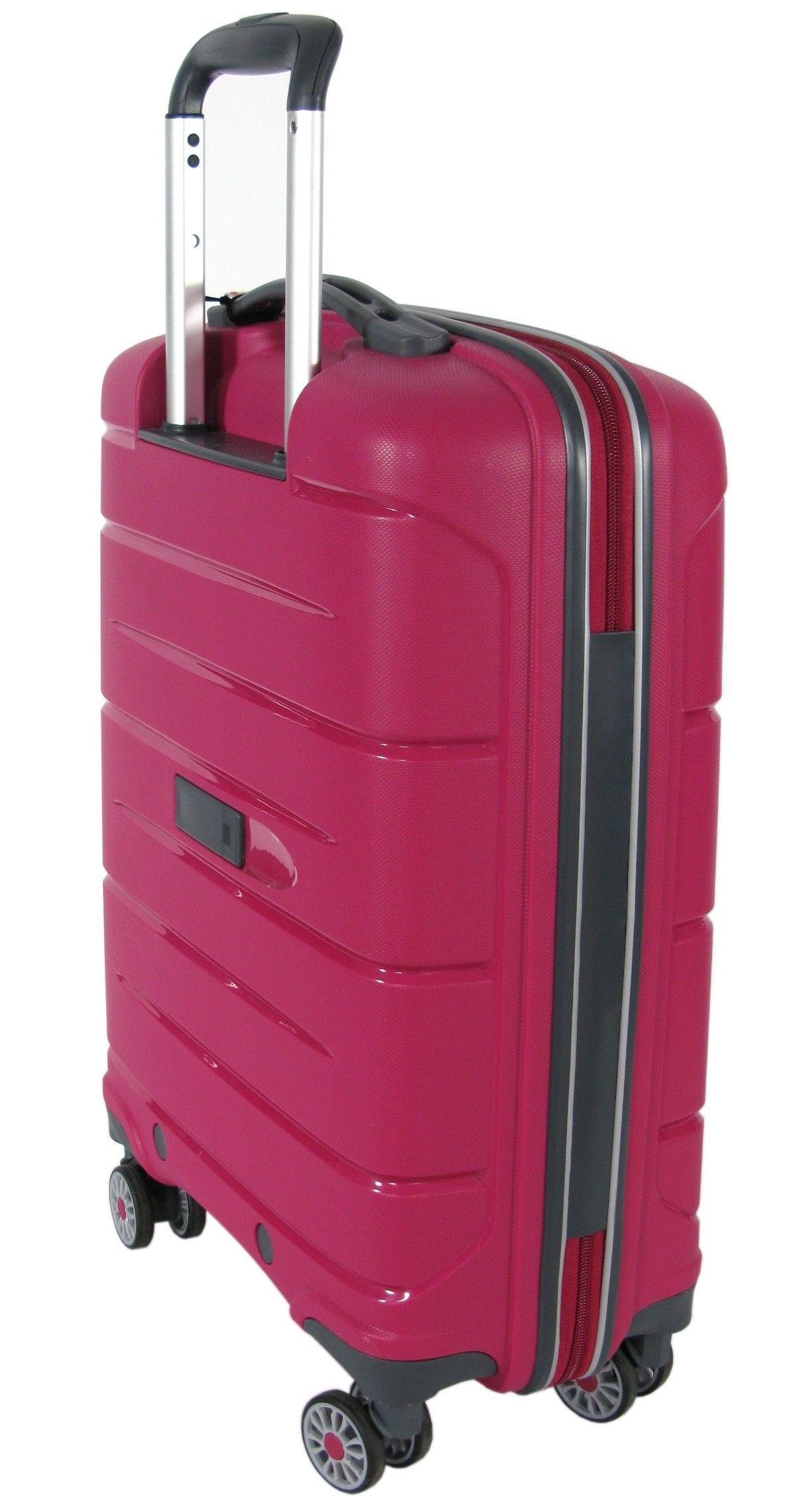 a0370fa2baa6 Mała walizka na kółkach RONCATO MODO zamek TSA różowa