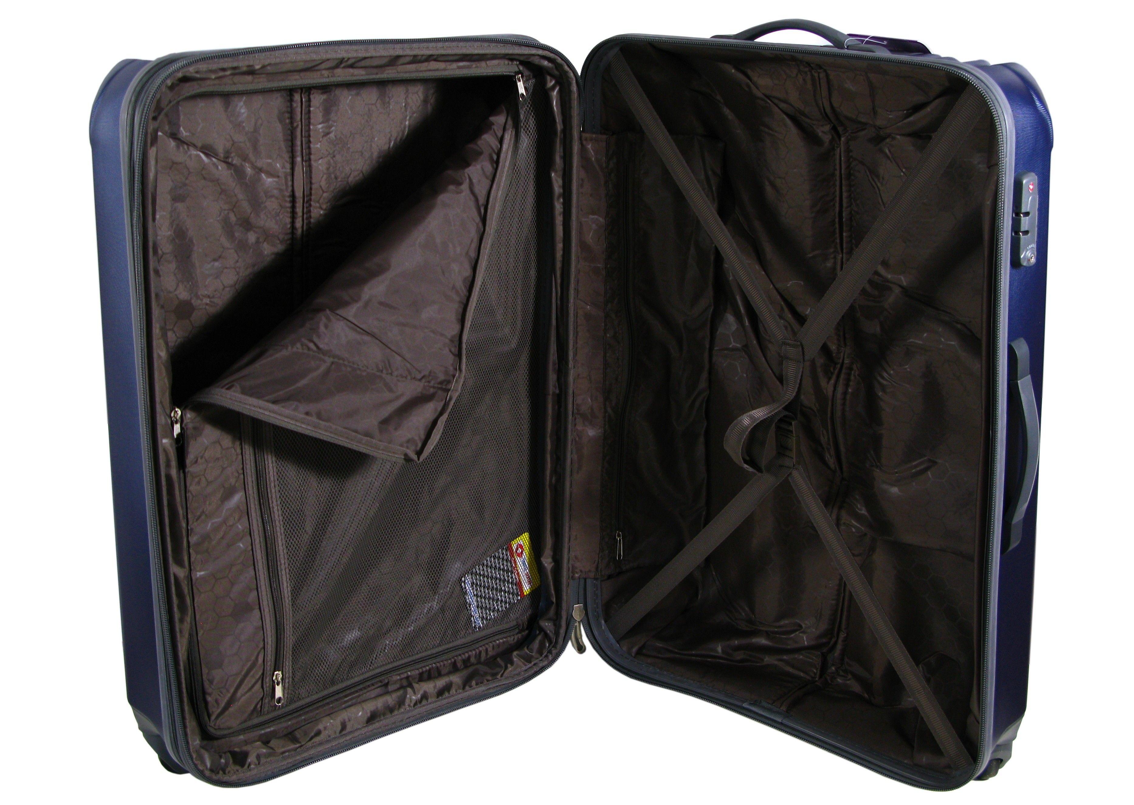 cb215c3b57dd8 Duża walizka na kółkach AIRTEX 949 wykonana z poliwęglanu ...