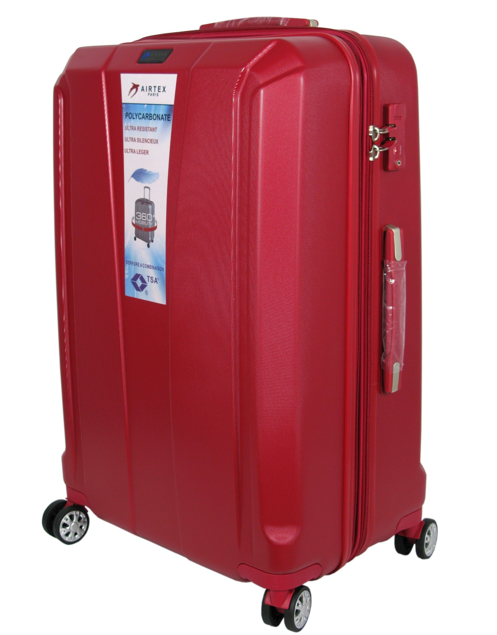 12140e3d2094c Mała walizka POLIWĘGLAN AIRTEX 953   Akcesoria skórzane ...