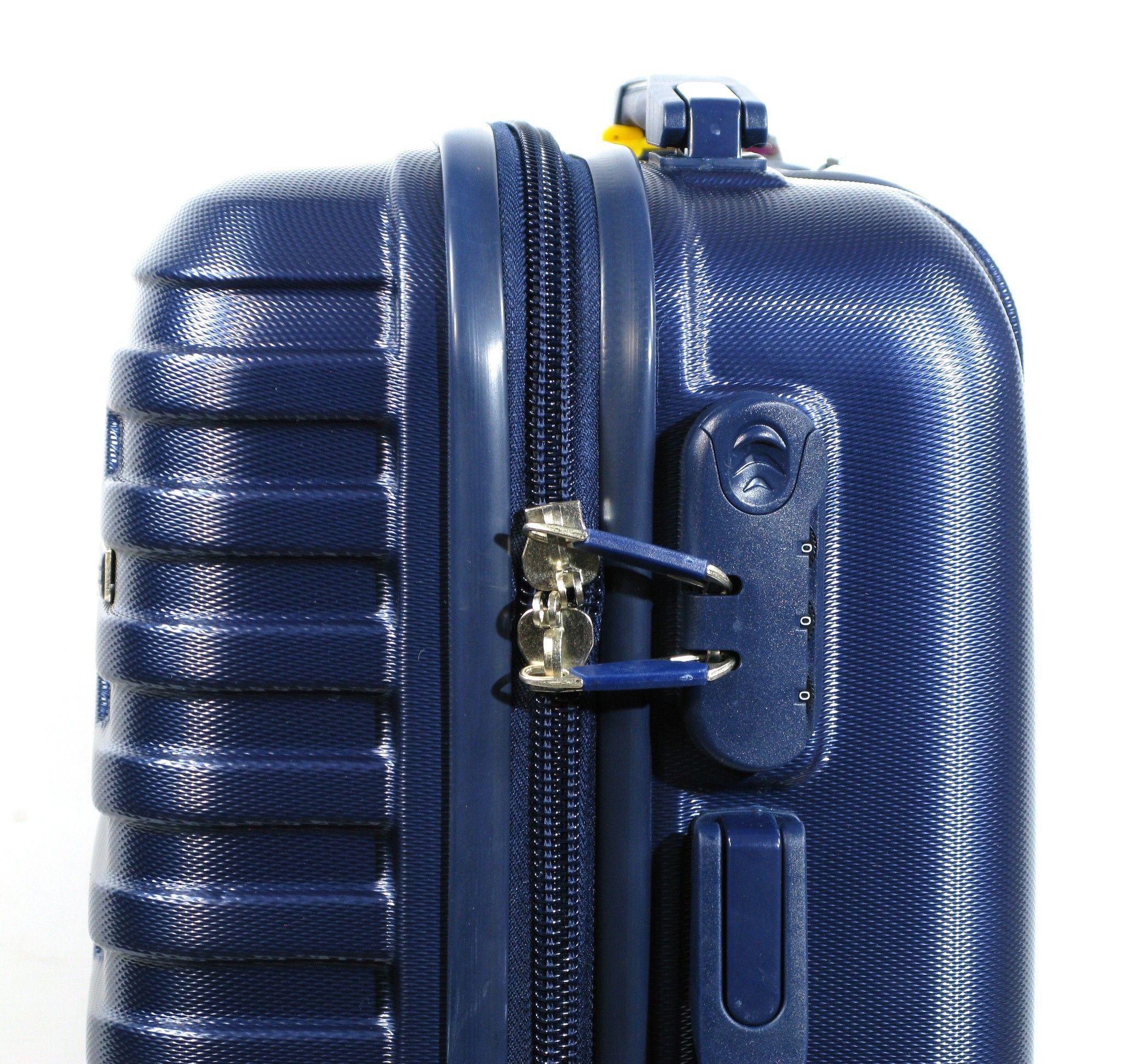 bd67c9c0f783a Mała walizka POLIWĘGLAN ORMI granatowa kabinowa   Akcesoria skórzane ...