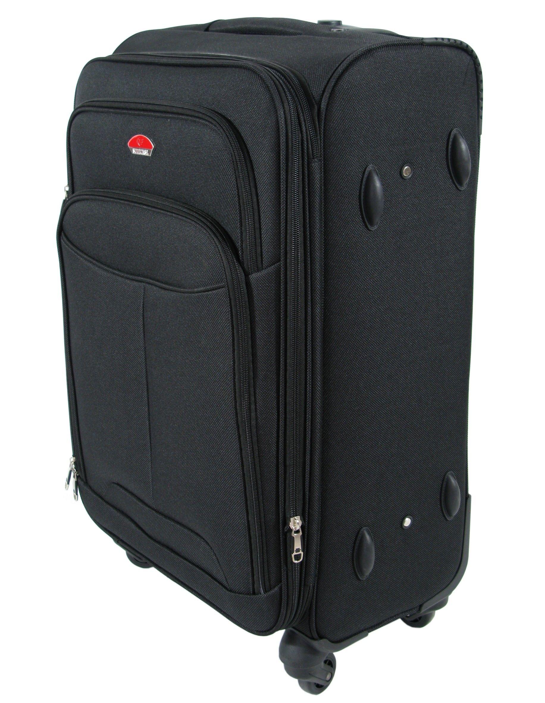 f791c655293e9 Duża walizka na kółkach SUITCASE 013 | Akcesoria skórzane ...