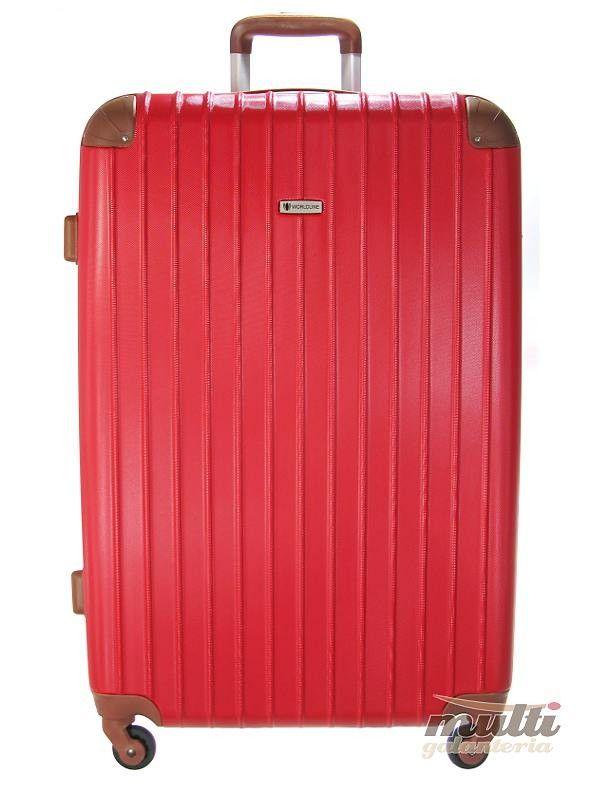 331acceb2a361 Duża walizka na kółkach WORLDLINE 526 | Akcesoria skórzane ...